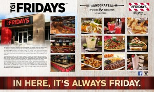TGI Fridays has announced the reopening of it's Port-Of-Spain restaurant